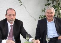 Enrico Gherlone e Paul Malo, anno 2011 ad un convegno
