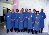 Il primo Staff del Servizio di riabilitazione orale del San Raffaele, anno 1993