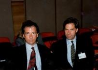 Il Prof. Gherlone al Congresso internazionale FDI Milano nel 1990 assieme al dott. Storti