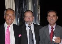 Il Prof. Enrico Gherlone con il Prof. Ciancaglini e con il Prof. Preti
