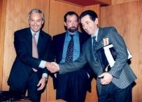 Il Prof. Gherlone con Prof Preti e Ciancaglini ad una Conferenza sull'occlusione