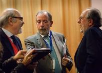Il Prof. Enrico Gherlone con Antonio Carassi e Roberto Weinstein al settimo Expo di Autunno 2013
