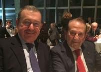 Il Prof. Santoro con il Prof. Giannì