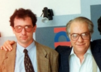 Enrico Gherlone nel 1983 con Mario Martignoni
