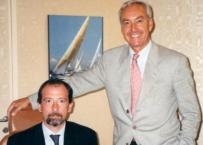 Insieme a Riccardo Ciancaglini, in uno degli innumerevoli congressi frequentati insieme