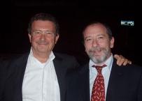 Enrico Gherlone con Franco Santoro
