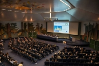 Tavola rotonda moderata dal giornalista Paolo Del Debbio con al centro il prof. E. Gherlone durante il 22 Congresso Nazionale del Collegio dei Docenti di discipline Odontostomatologiche.