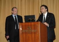 Il Prof. Gherlone al 4 Expo di Autunno assieme al Dott. Prada attuale Presidente nazionale ANDI